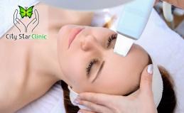 УЗ-чистка лица и плазмотерапия