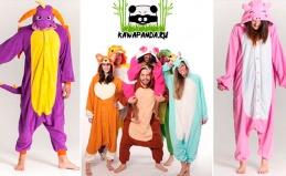 Пижамы-кигуруми и тапки