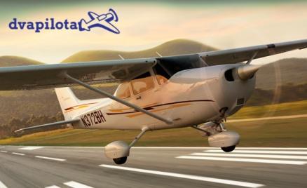 Полет на самолете Cessna 172