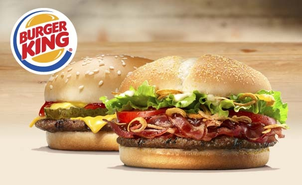 При покупке стейкхауса - чизбургер бесплатно в ресторанах Burger King! Промокод 9810