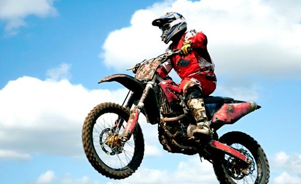 Скидка на Катание на питбайке или кроссовом мотоцикле в будни или выходные от компании Nikodan Moto. Скидка до 68%