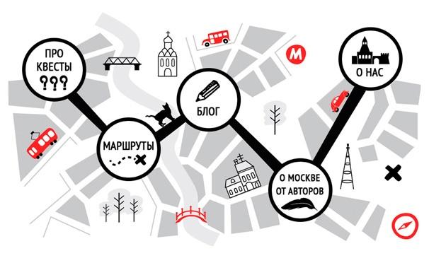 Скидка на Скидка 67% на увлекательные городские пешеходные квесты по Москве от компании «Квест-город»
