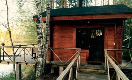 Коттедж в Финляндии на берегу Саймы