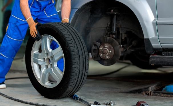 Скидка на Скидка 59% на шиномонтаж и балансировку колес до R18 включительно + скидка 30% на компьютерную диагностику авто в многопрофильном автосервисе Ivanmotors