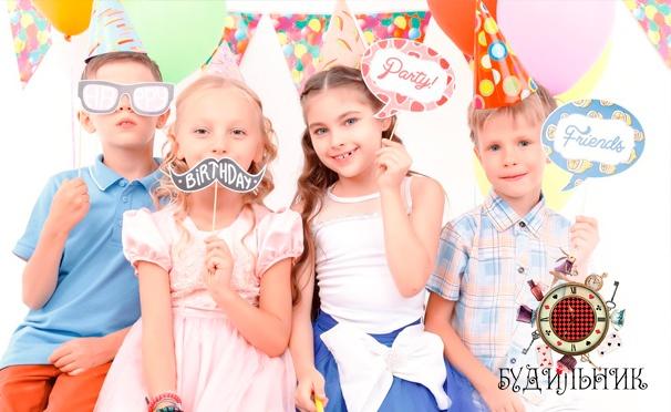 Скидка на Проведение дня рождения в детском центре «Будильник»: уникальный дизайн в стиле сказки «Алиса в Стране чудес», веревочный парк и скалодром! Скидка 50%