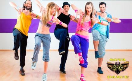Занятия танцами в студии Sova Dance