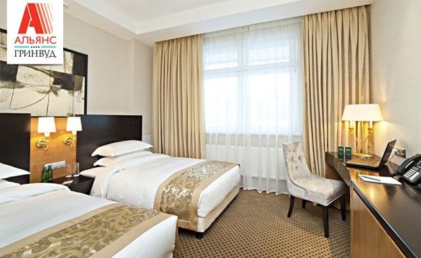 2 дня/1 ночь или 3 дня/2 ночи для двоих в отеле «Альянс Гринвуд 4*»: номер «Студио», завтрак «шведский стол», игристый напиток и комплимент от отеля. Скидка до 51%