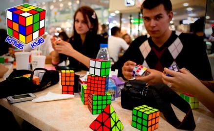 Тренинг «Собери кубик Рубика»