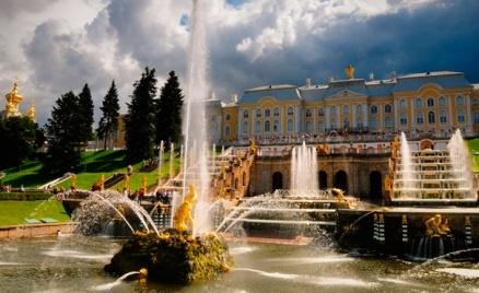 Тур «Открытие фонтанов в Петергофе»
